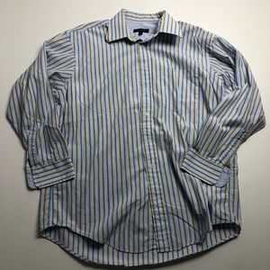 Ted Baker Dress Shirt Mens Striped